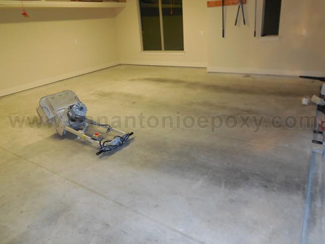 Preparing concrete floors for epoxy coating for Preparing concrete for paint