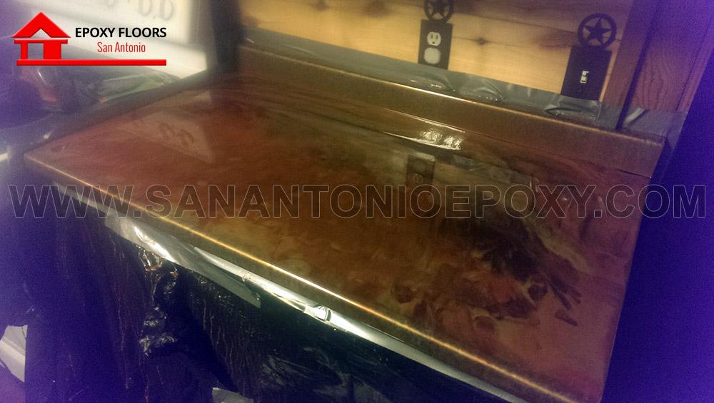Flooring Services San Antonio : Metallic epoxy flooring san antonio