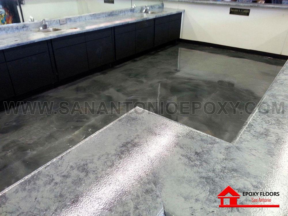 Flooring Services San Antonio : Metallic epoxy flooring images in san antonio tx