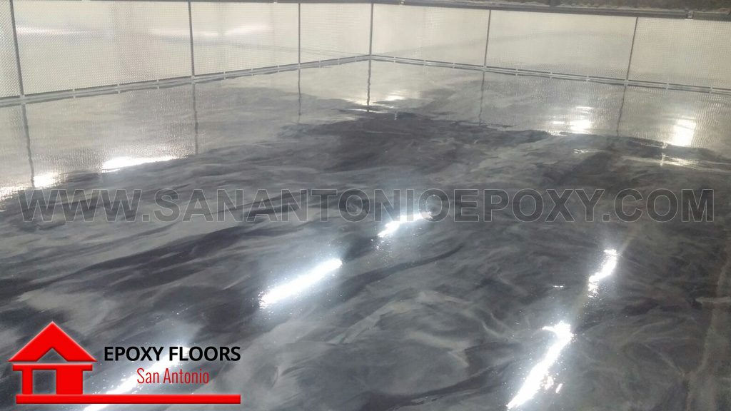 Metallic Epoxy Flooring in San Antonio